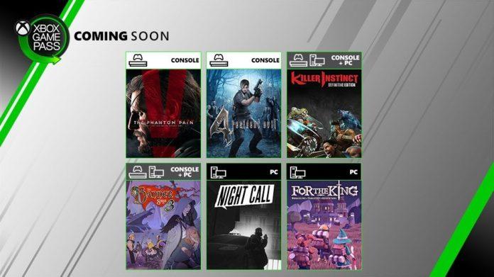 Xbox Game Pass Juli 2019
