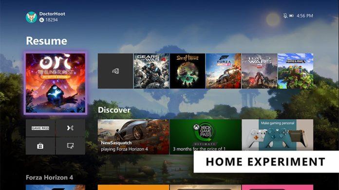 Xbox One Startseite Juli 2019 - Xbox Insider