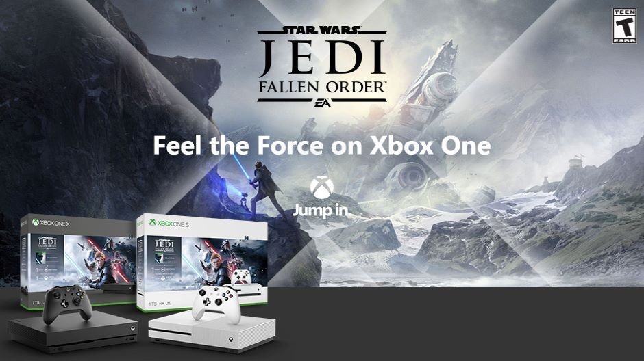 Xbox One Star Wars Jedi: Fallen Order Bundle