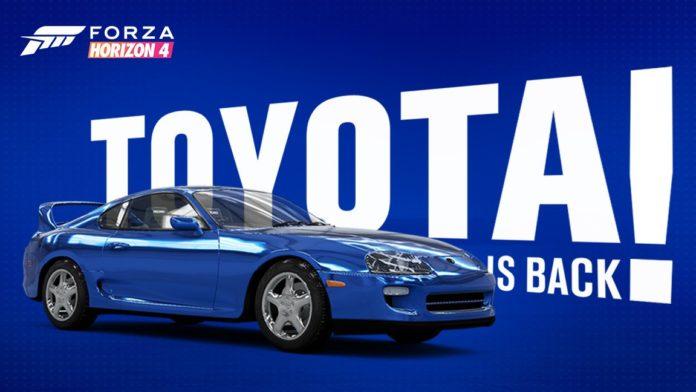 Forza Horizon 4 Toyota