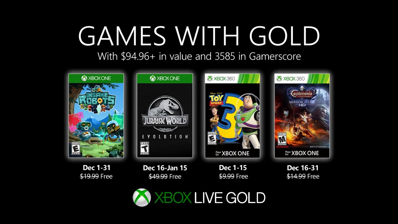 Games with Gold - Dezember 2019