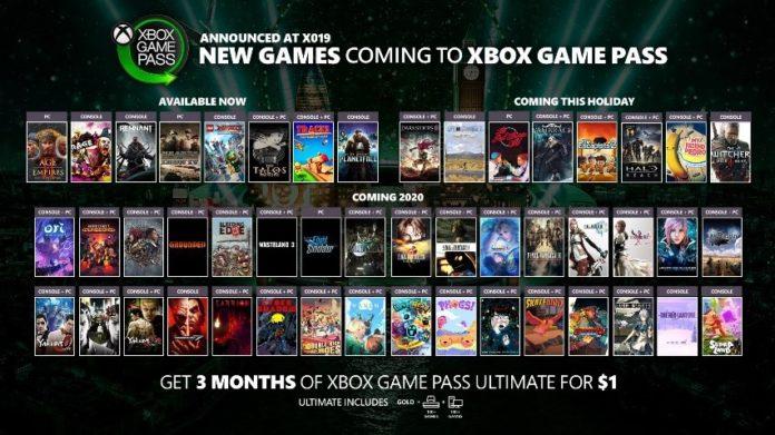 Xbox Game Pass - X019
