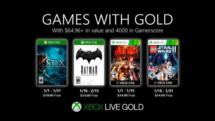 Games with Gold - Januar 2020