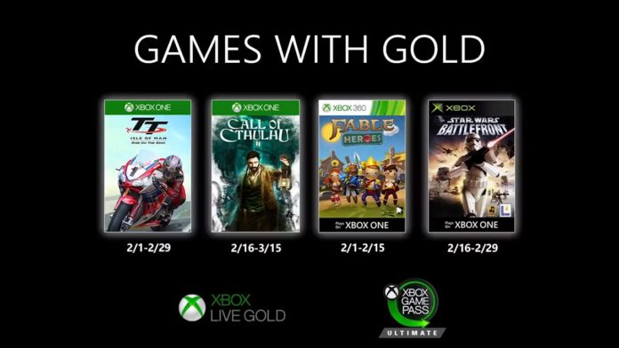 Games with Gold - Februar 2020