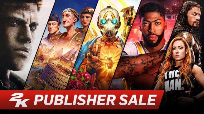 2K Publisher Sale