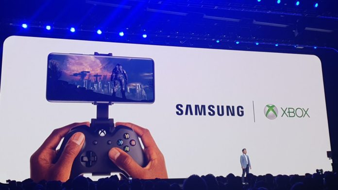 Samsung Microsoft Xbox