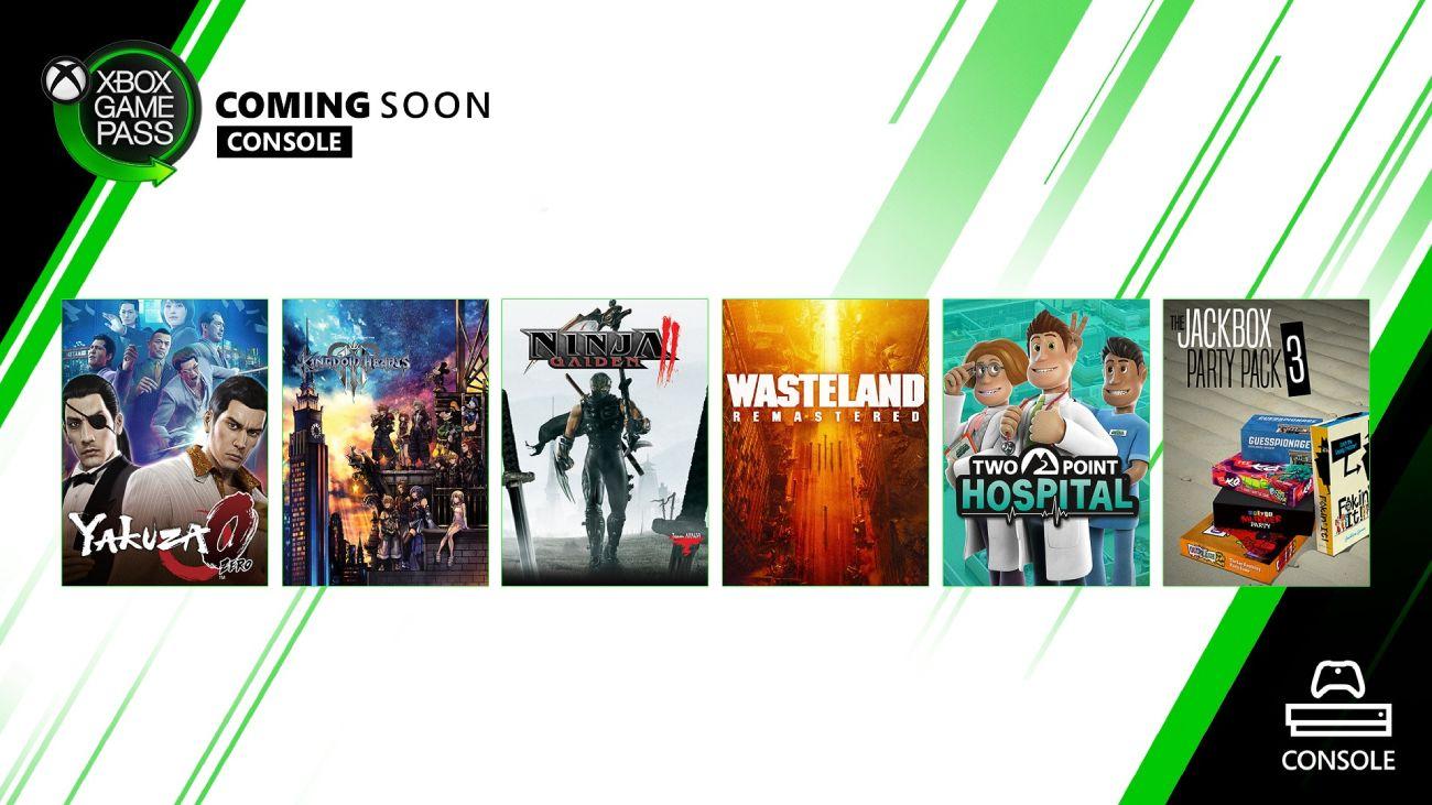 Xbox Game Pass Februar 2020