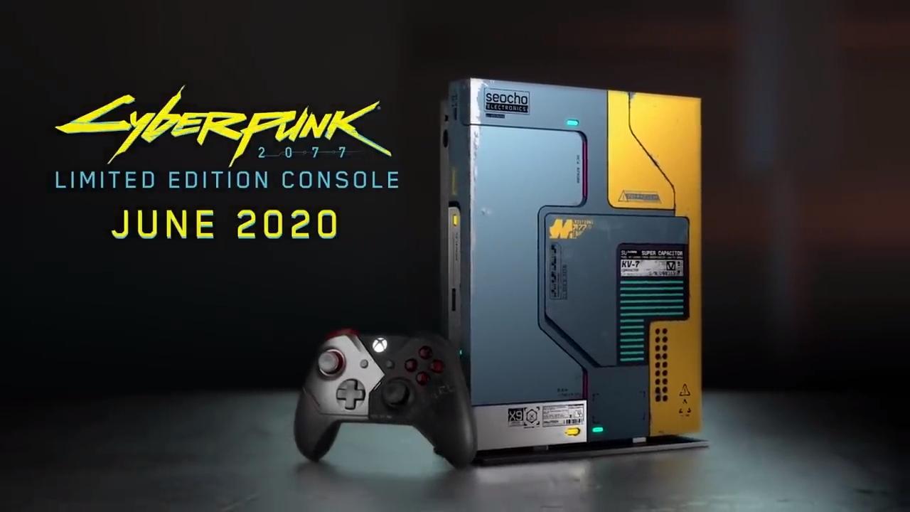 Cyberpunk 2077: Xbox One X Limited Edition Bundle Trailer