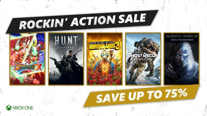 Rockin 'Action Sale