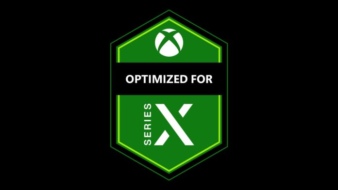 Xbox Series X Optimized Badge