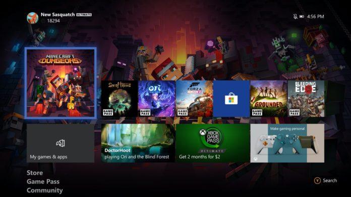 Xbox One Update - Juni 2020