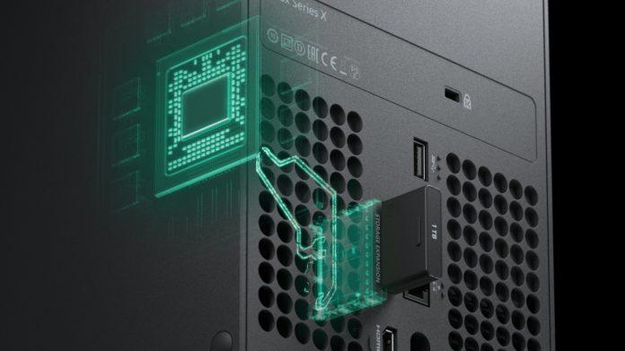 Xbox Series X Storage Expansion Card von Seagate