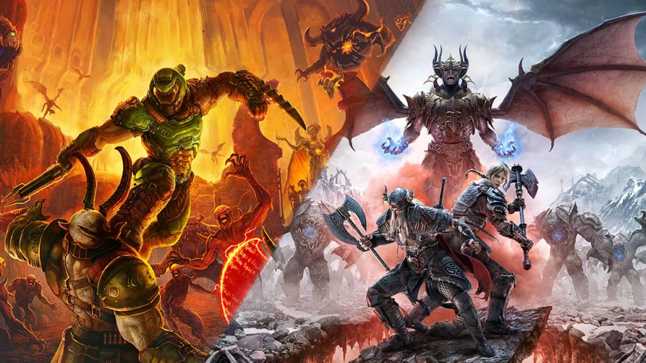 DOOM Eternal und The Elder Scrolls Online