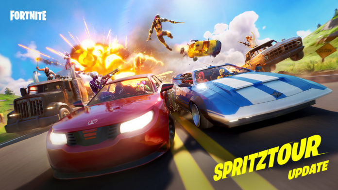 Fortnite Spritztour-Update
