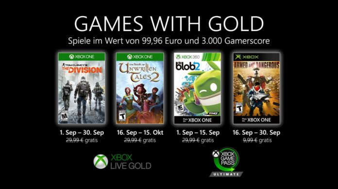 Games with Gold - September 2020