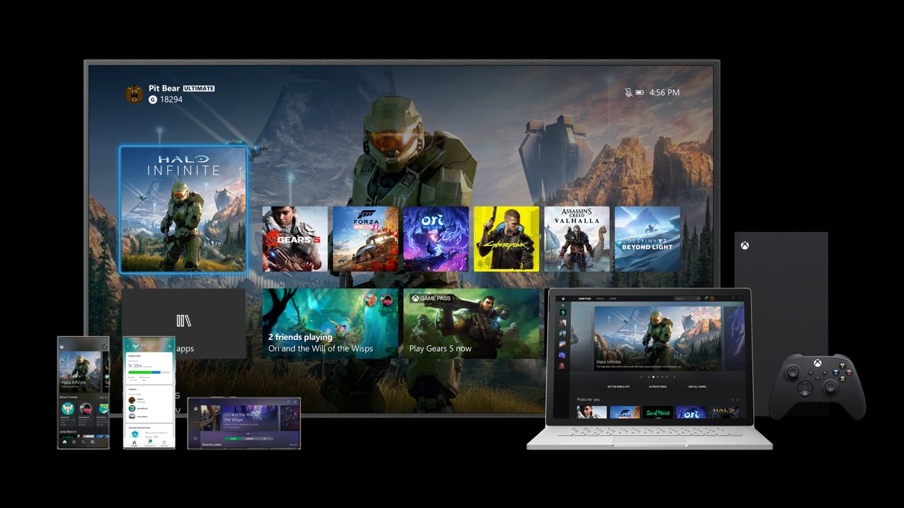 Xbox Series X Dashboard