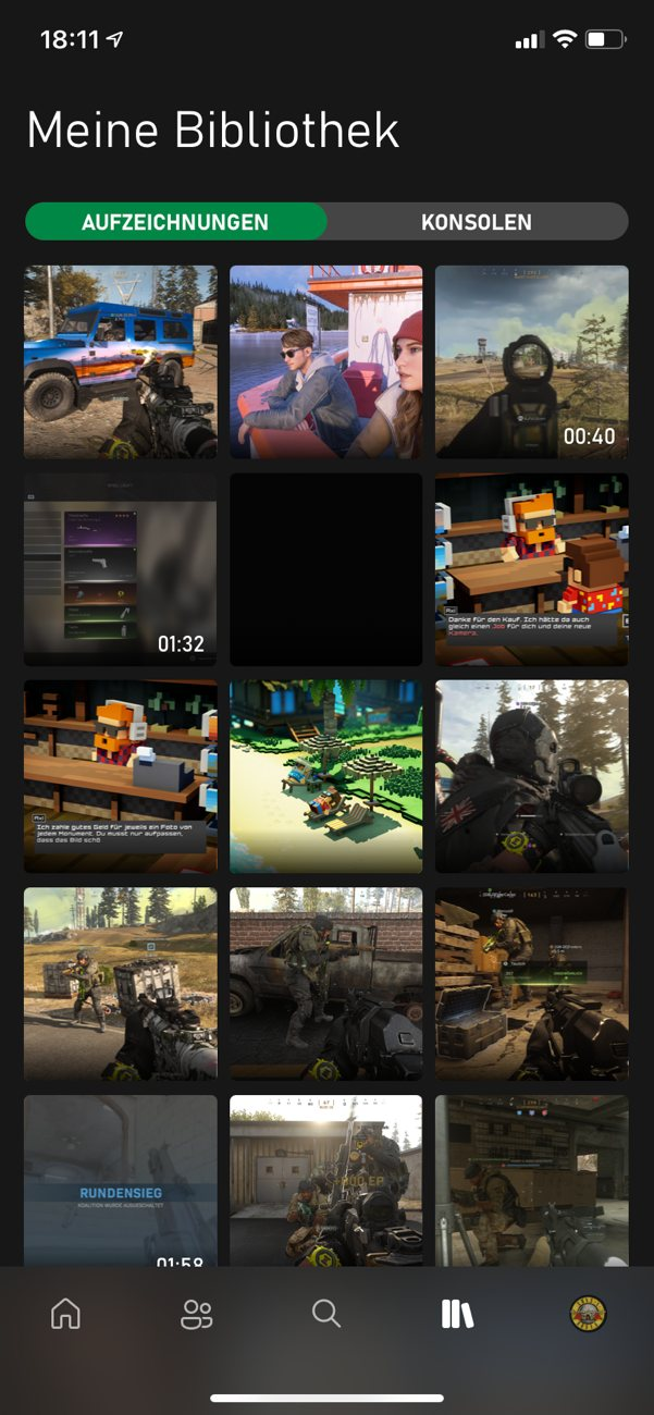 Xbox App (Beta) für iOS