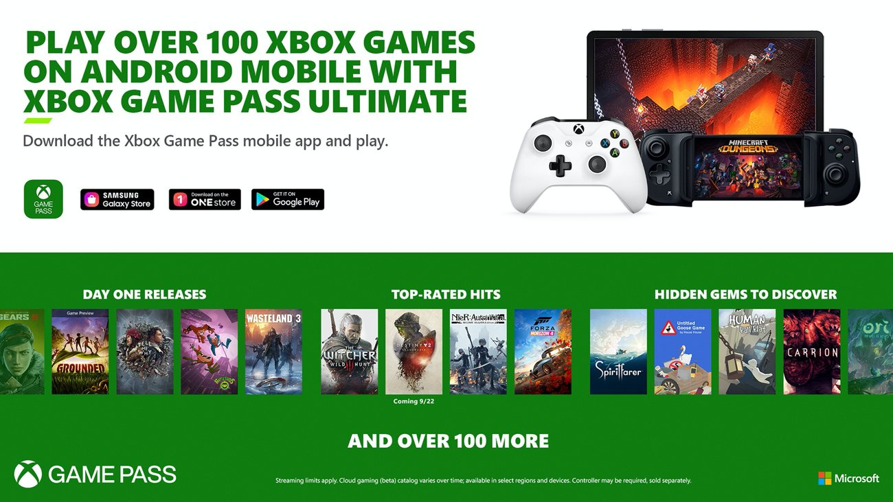 Xbox Game Pass Ultimate - Cloud Gaming