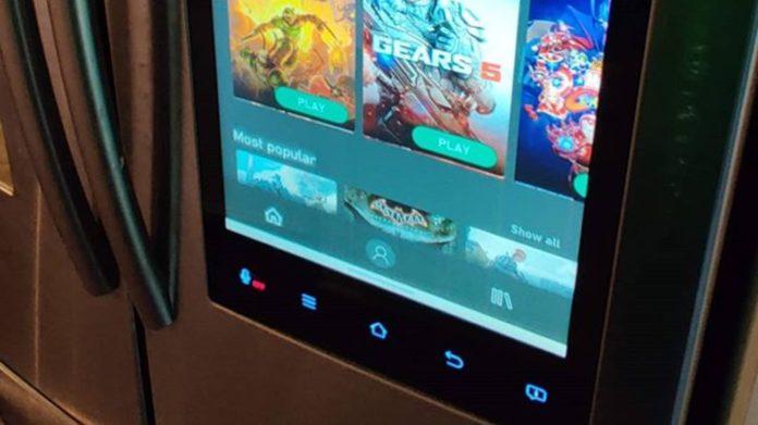 Cloud Gaming - Samsung Kühlschrank