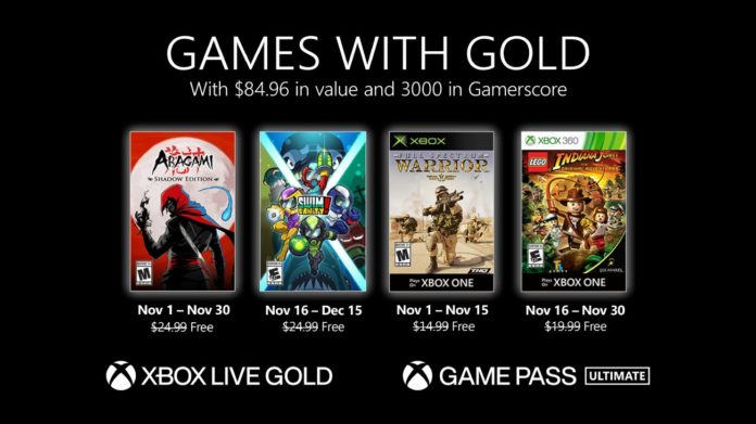 Games with Gold - November 2020