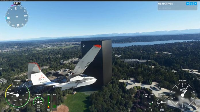 Microsoft Flight Simulator - Xbox Series X Modell