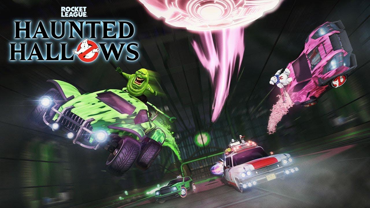 Rocket League - Ghostbusters