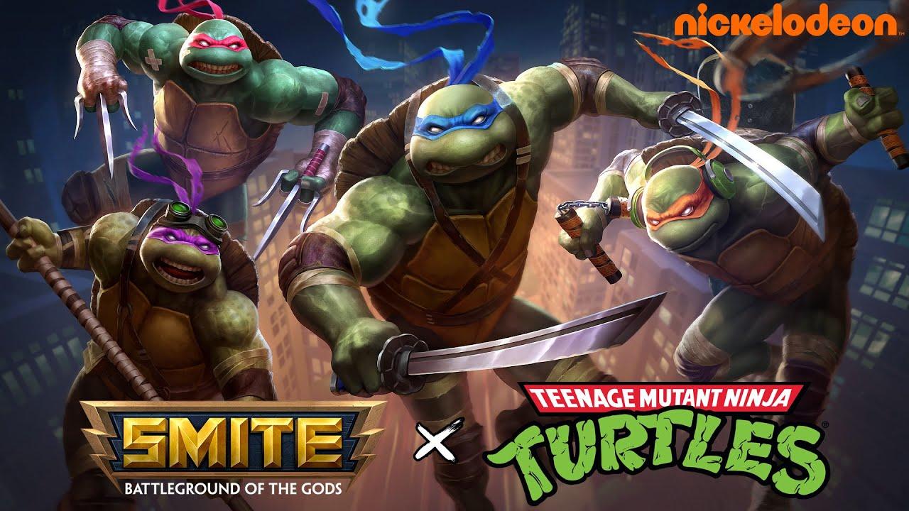 SMITE - Ninja Turtles