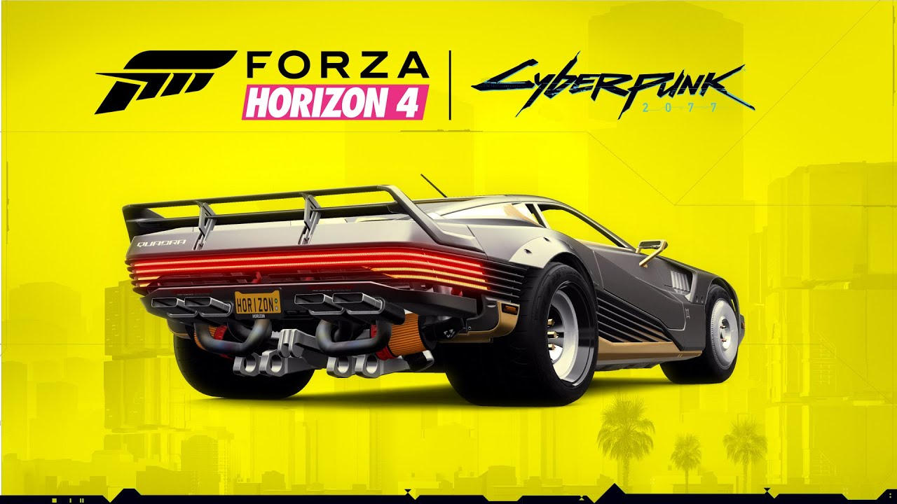 Forza Horizon 4 - Cyberpunk 2077