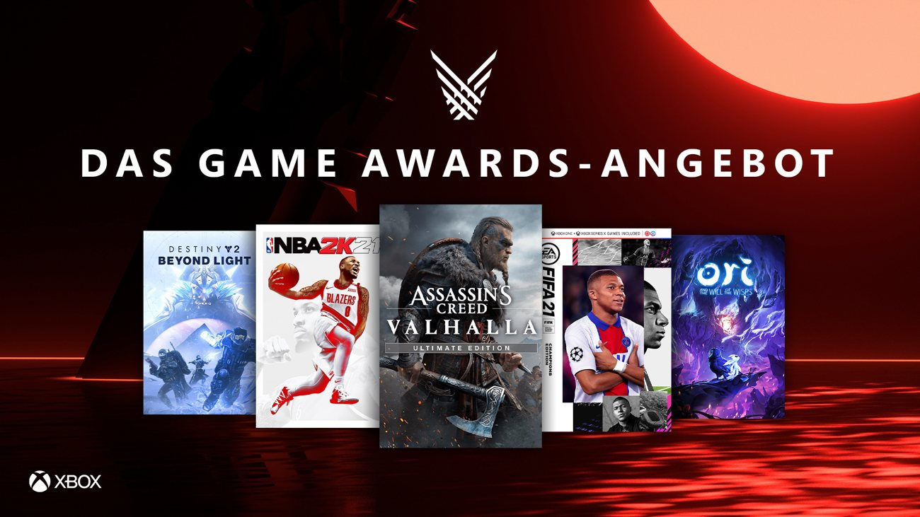 The Game Awards - Xbox Deals
