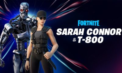 Fortnite: Sarah Connor und T-800