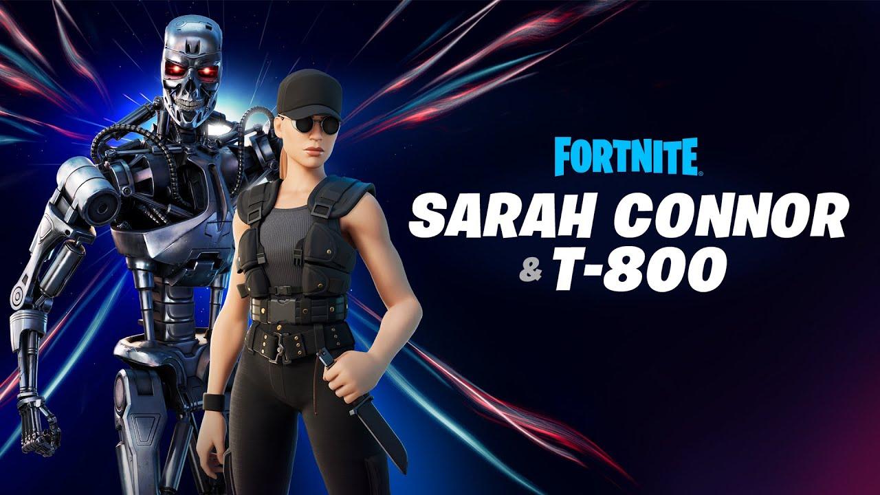 Fortnite: Sarah Connor und T-800