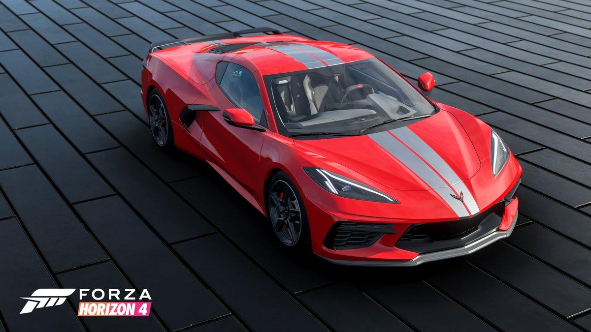 Forza Horizon 4 - Chevrolet C8