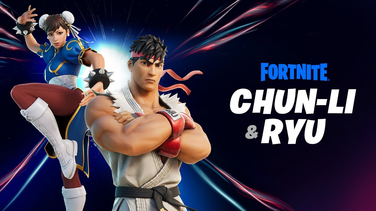 Fortnite: Street Fighter Crossover