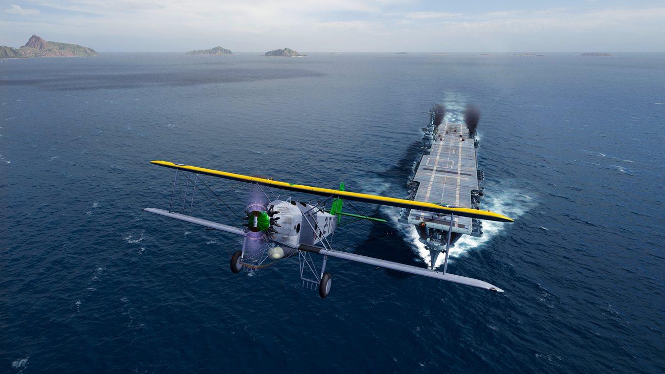 World of Warships: Legends - Flugzeugträger