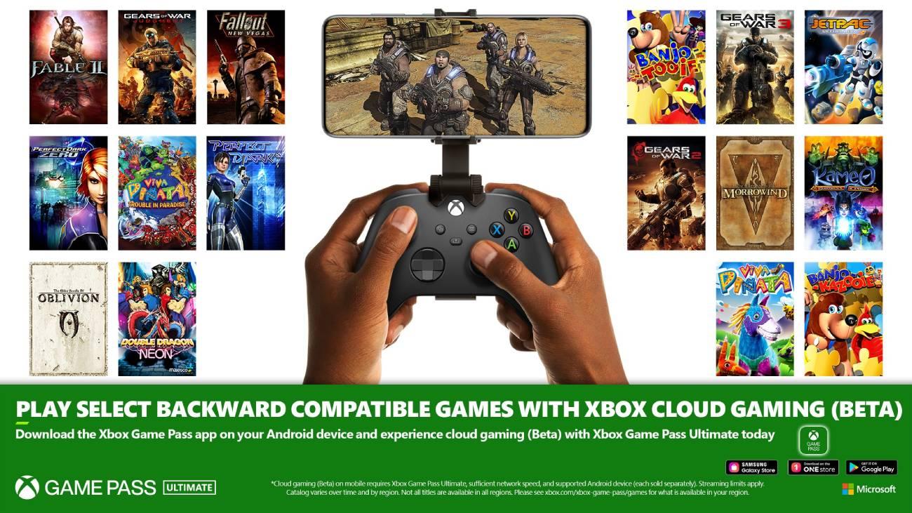 Abwärtskompatibilität erreicht Cloud-Gaming