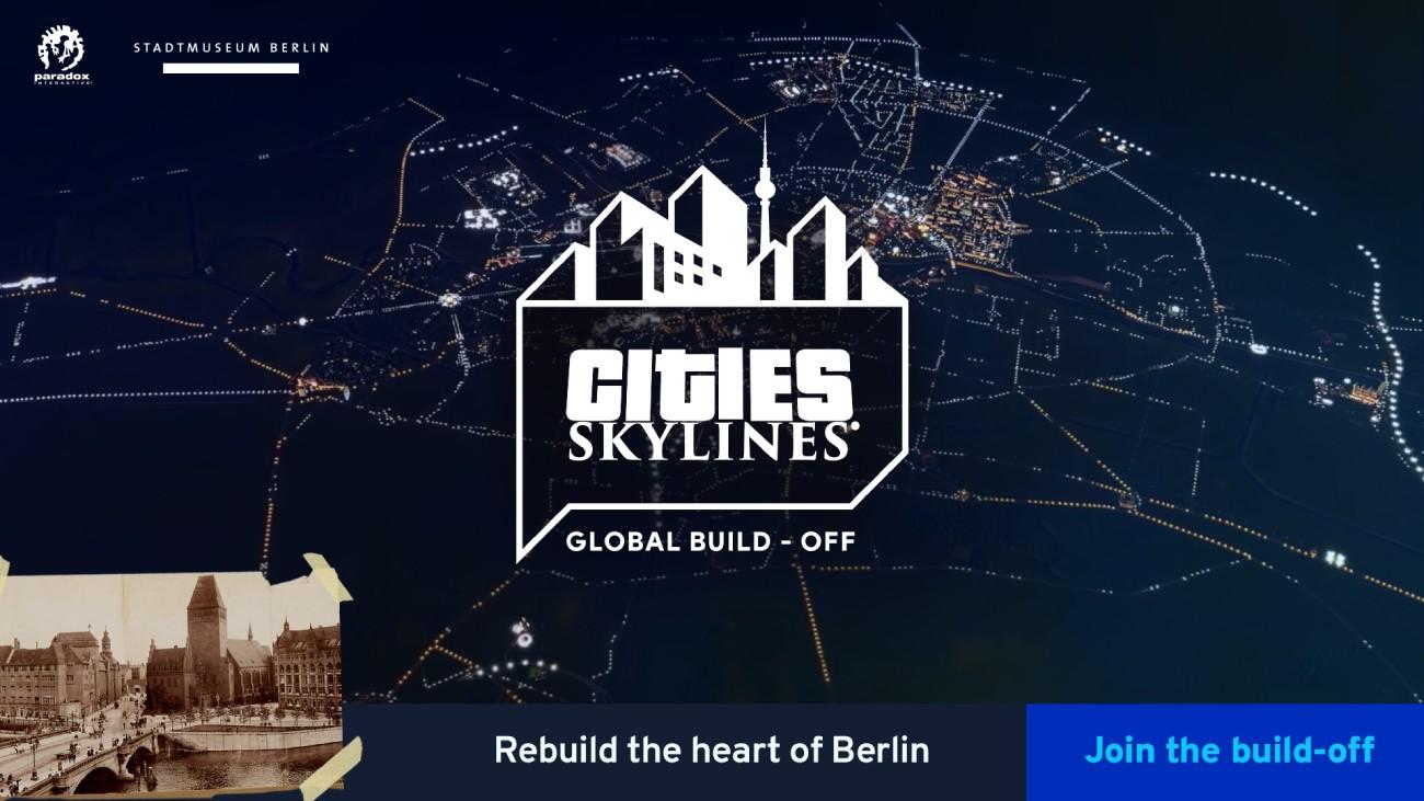 Cities: Skylines - Stadtmuseum Berlin ruft zum digitalen Wettbewerb auf