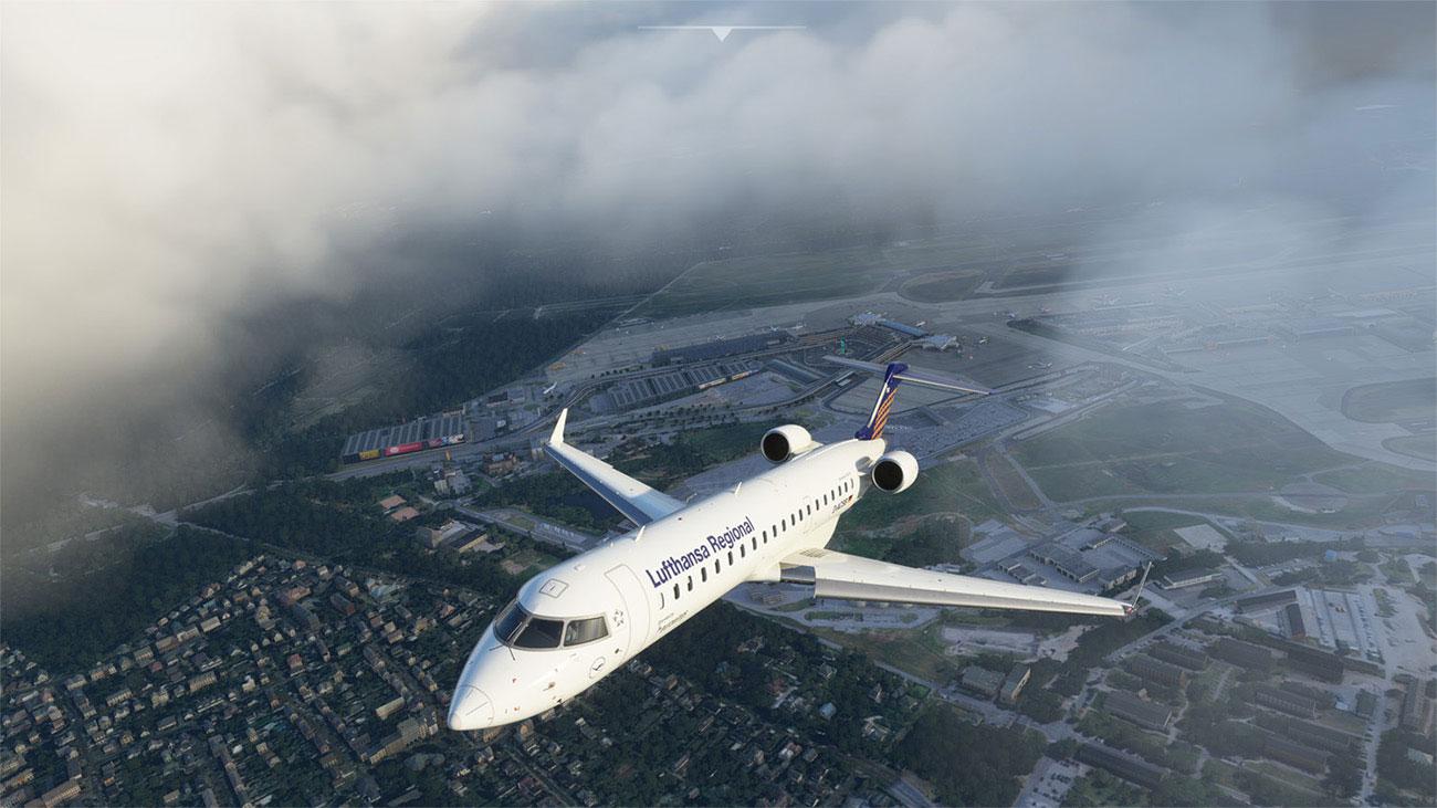 Microsoft Flight Simulator -Aerosoft CRJ 550/700