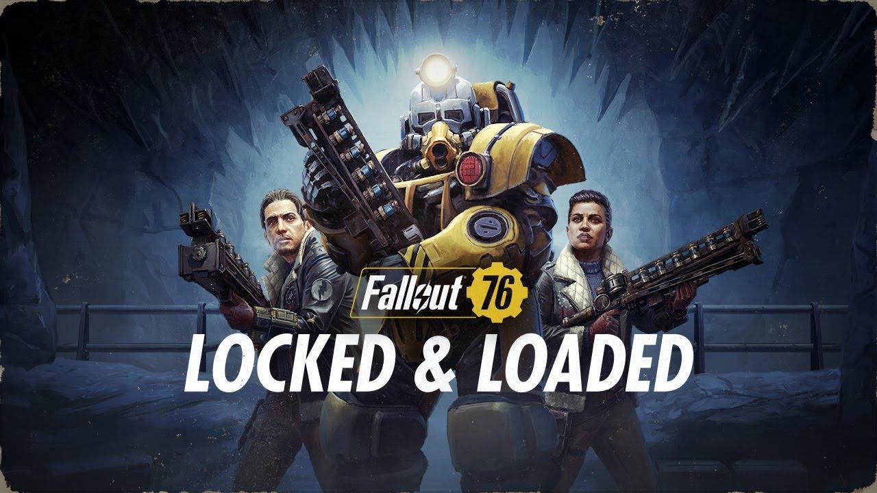 Fallout 76: Geladen und entsichert - Update