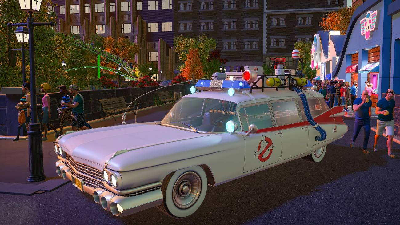 Planet Coaster: Console Edition - Ghostbusters