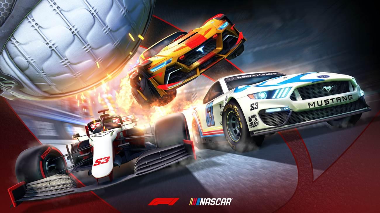 Rocket League - Season 3 - Formel1, NASCAR