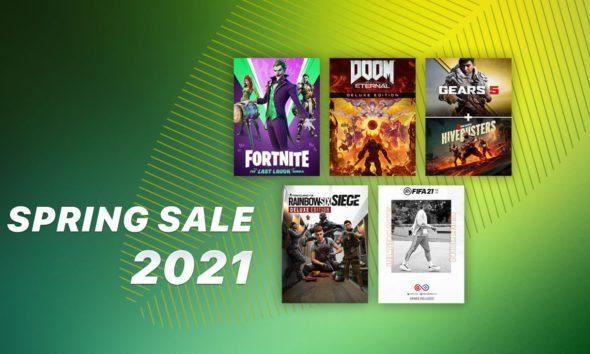 Xbox Spring Sale 2021