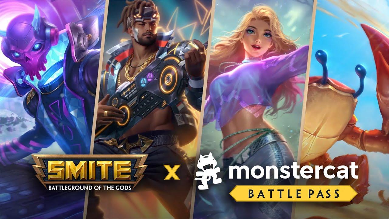 SMITE - Monstercat Battle Pass