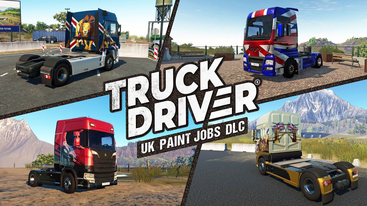 Truck Driver - UK Paint Jobs DLC