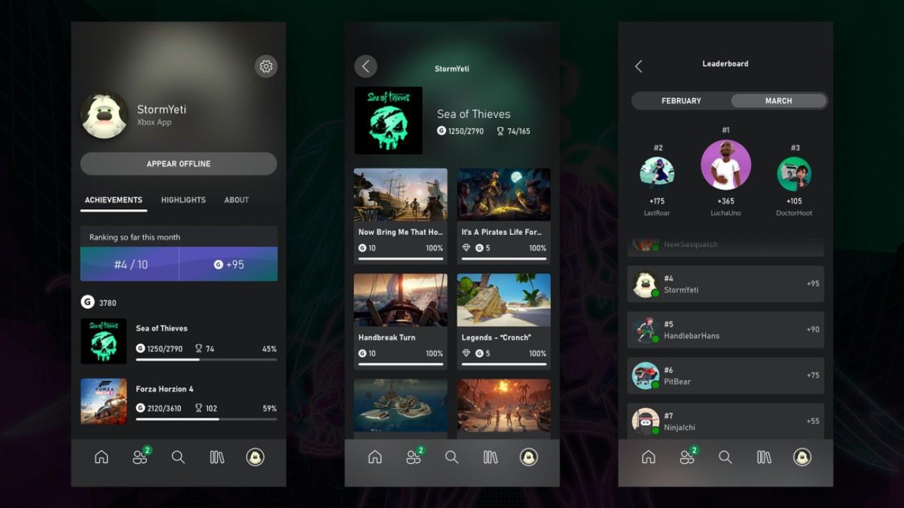 Updates für Xbox App und Xbox Dashboard