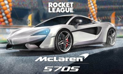 Rocket League - McLaren 570S