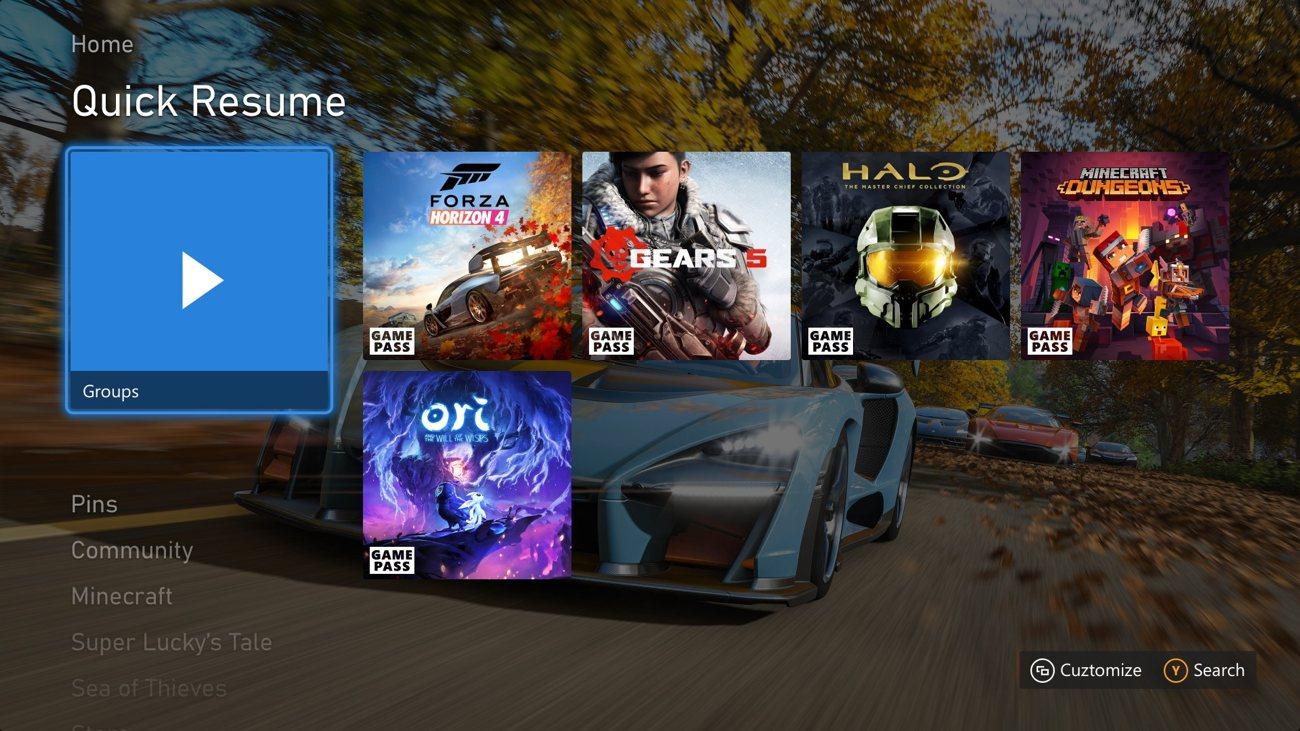 Xbox Mai 2021 Update