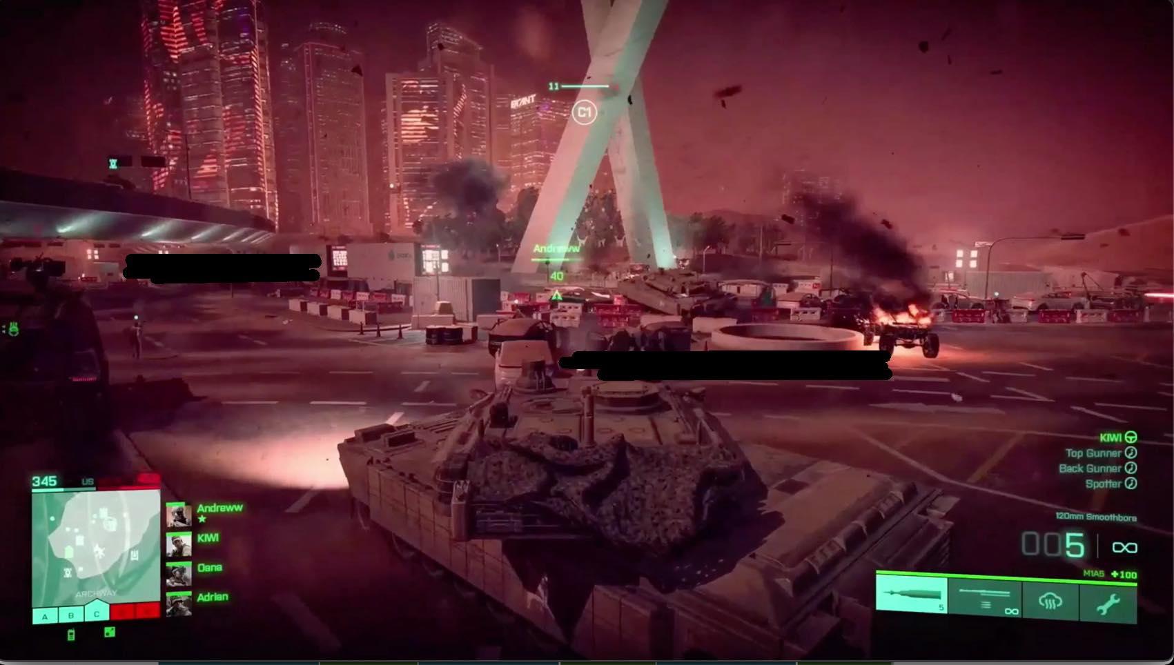Battlefield - Alpha Version Screenshot