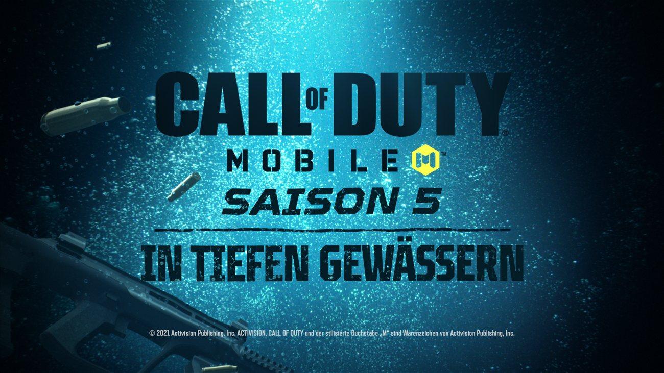 Call of Duty: Mobile Saison 5: In tiefen Gewässern