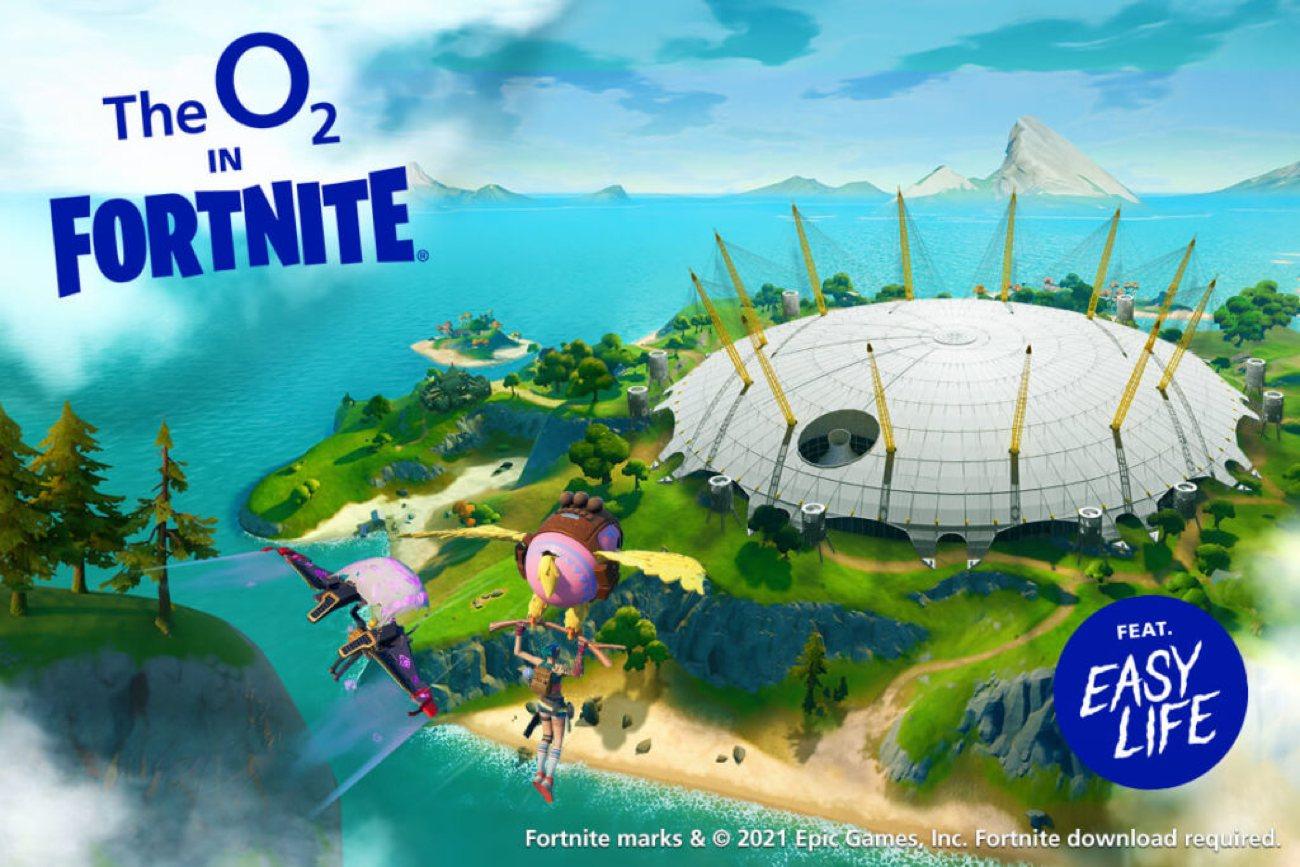 Fortnite Creative - London The O2