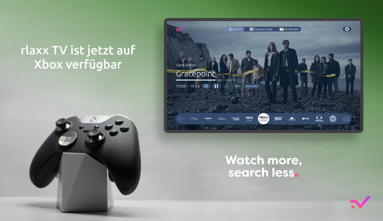 rlaxx TV auf Xbox